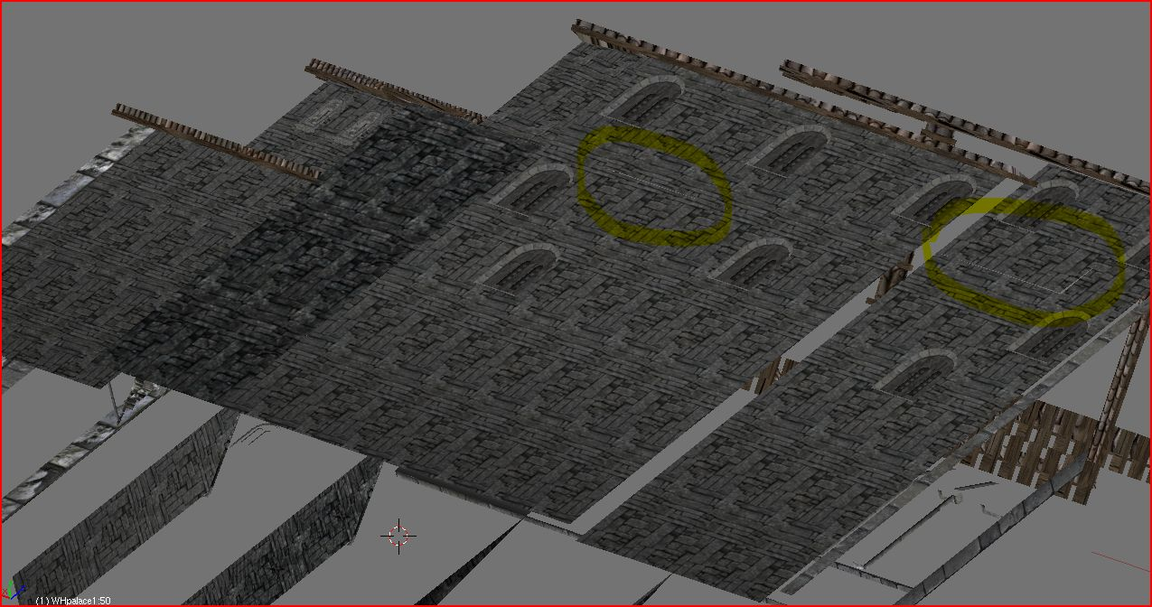Palace of the Kings, wall mesh 1 (A)