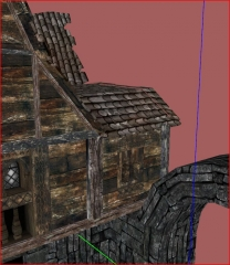 Meshes\Architecture\Windhelm\WHStoneQuarterHouses01.nif gaps and UV errors 03