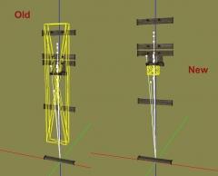 Wooden rack triggers