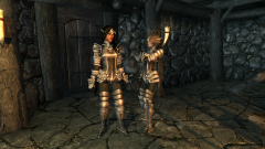 Hana's Leere armor recolor, iron
