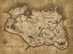 SR Map Skyrim