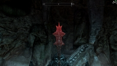 Rusty Mace of Molag Bal with shader