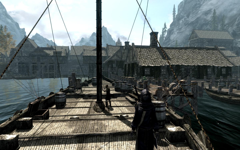 Riften Docks