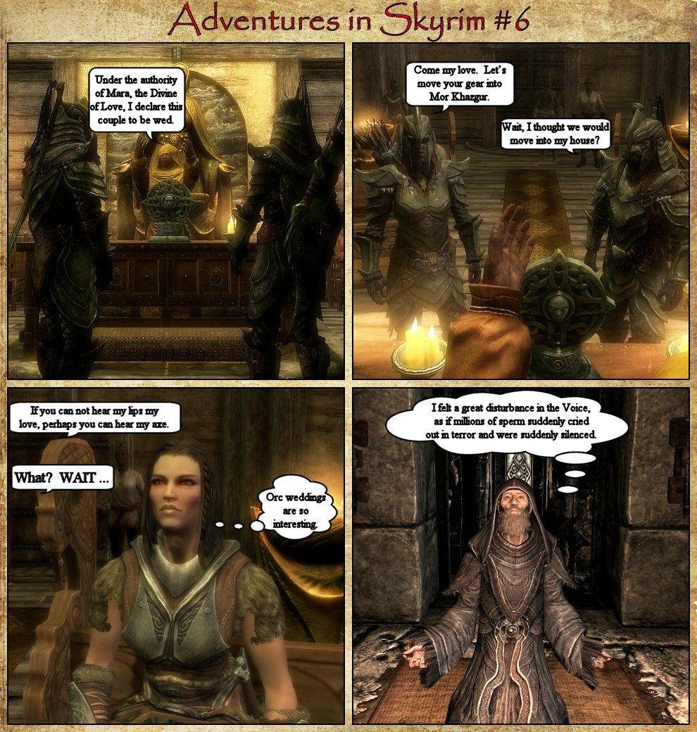 Adventures in Skyrim 6