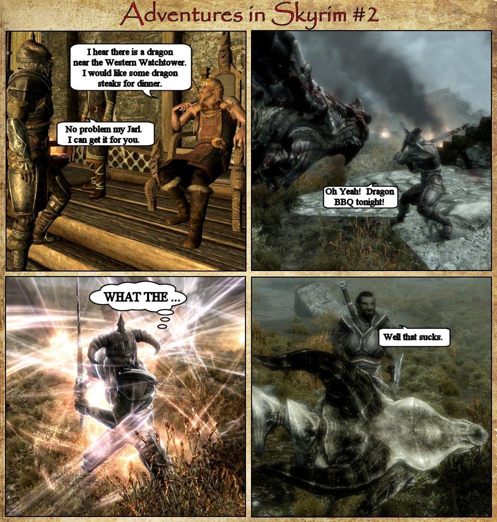 Adventures in Skyrim 2