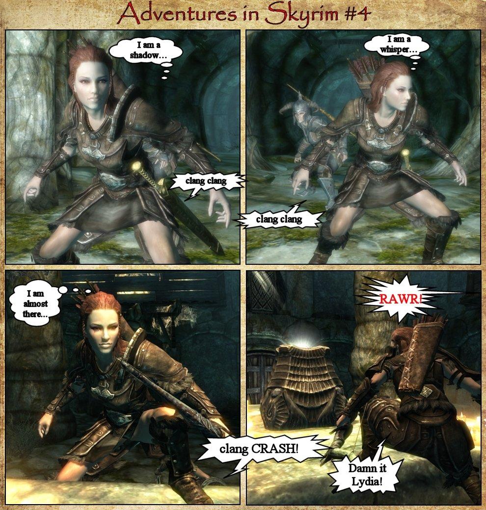 Adventures in Skyrim 4