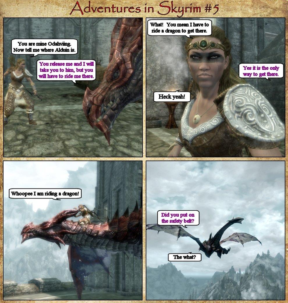 Adventures in Skyrim 5