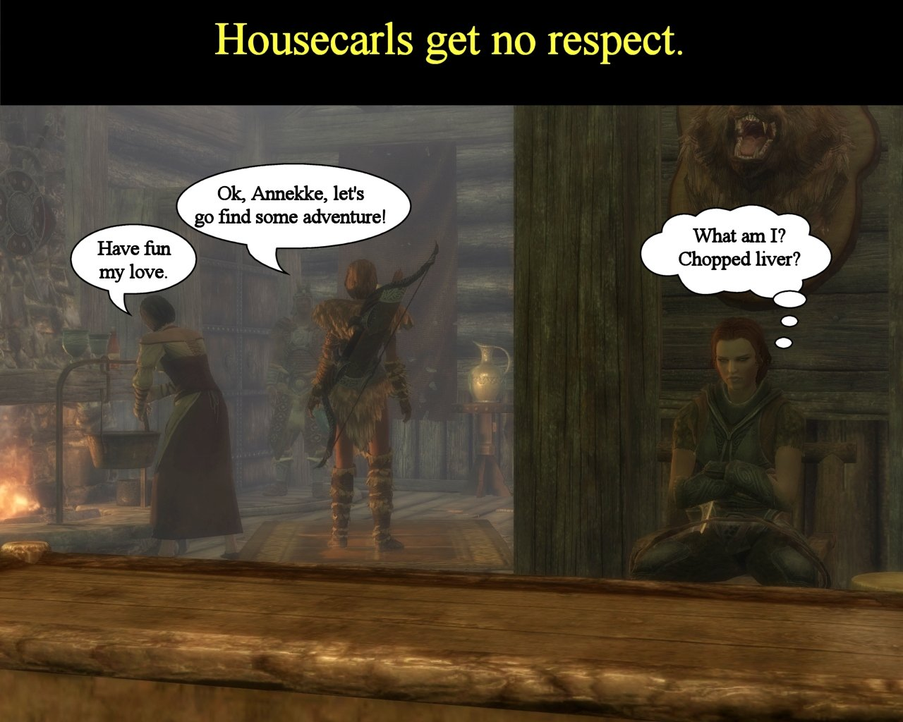 Housecarl Respect