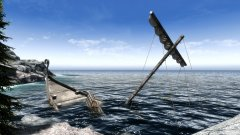 """The wreck of the Imperial Packet Ship """"IPS Cliff Racer"""""""