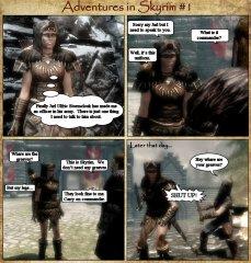 Adventures in Skyrim 1