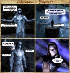 Adventures in Skyrim 3