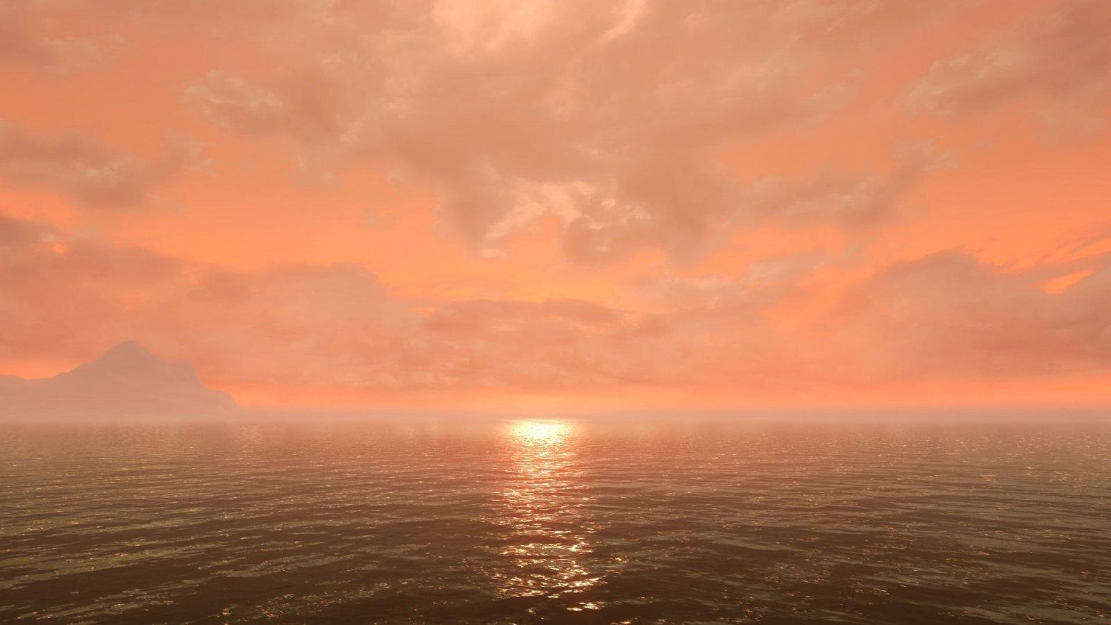 Skyrim Sunset.