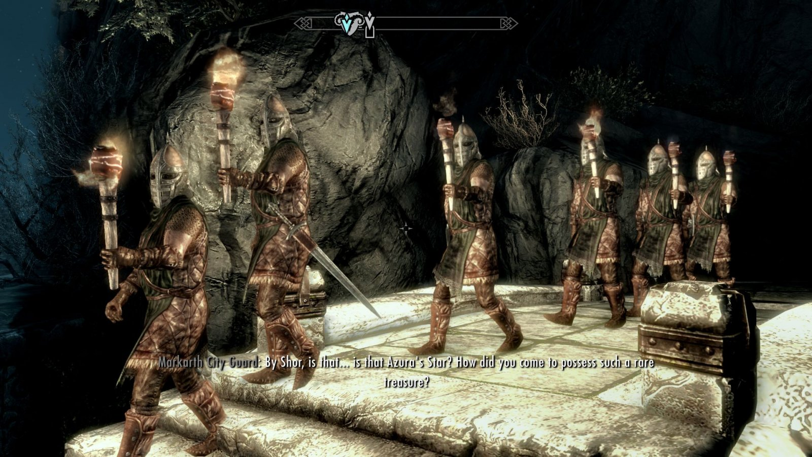 Changing of the guard. Markarth.