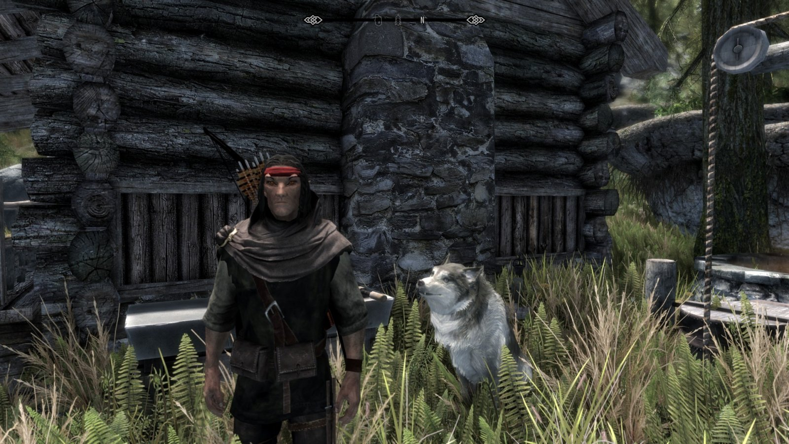 A Dog and his Elf