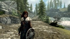 On the way to Riverwood...